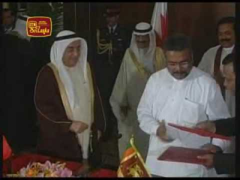 Bahrain PM says Sri Lankas victory over terrorism in an example to the world 9th July 2009