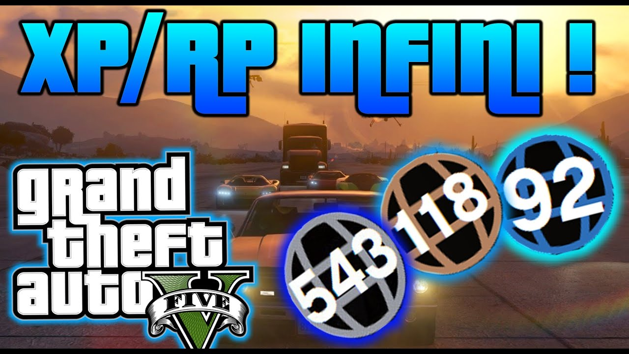 comment augmenter xp gta 5