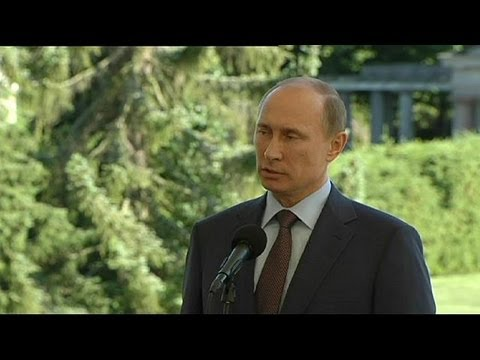Putin: Snowden in Russia, will not be extradited to US