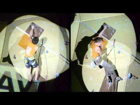 Deutsche Klettermeisterschaft 2011 Wuppertal - Jungs Vergleich