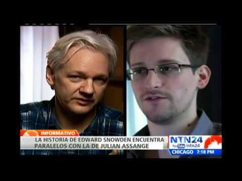 Revelación de documentos secretos ponen a Assange y Snowden bajo la mira de Estados Unidos