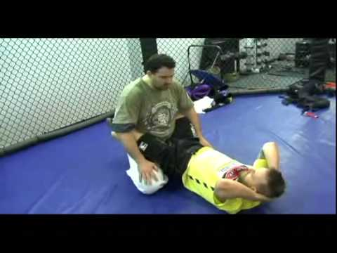 MMA Techniques: Guard Pass to Leg Lock Image 1