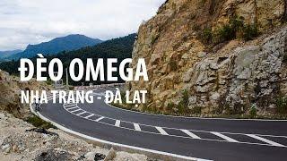 Đèo Omega từ Nha Trang Lên Đà Lạt - motorbike from Nha Trang To Da Lat - TUÂN CUỒNG CHÂN