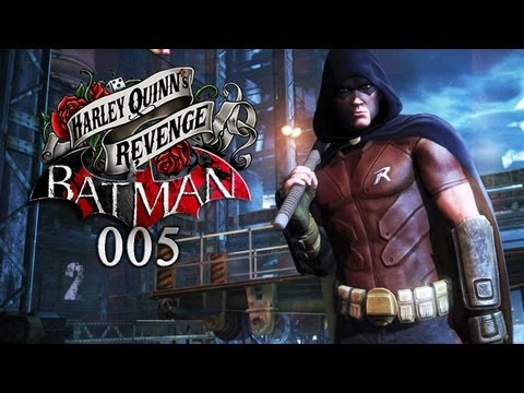 BATMAN: ARKHAM CITY - HARLEY QUINN'S REVENGE #005 - Harleys Psychosen [HD+] | Let's Play Batman DLC