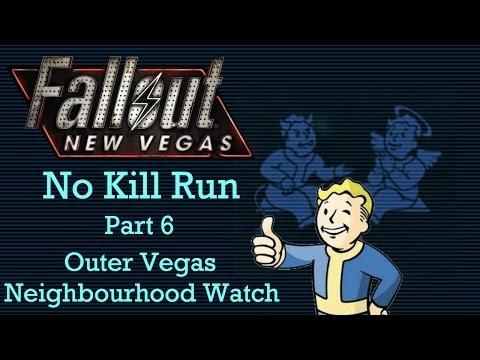 Fallout New Vegas: No Kill Run - Part 6 - Outer Vegas Neighbourhood Watch