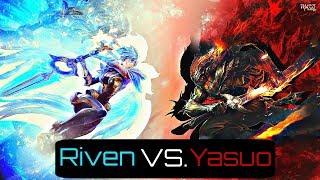 Nightbringer Yasuo VS Dawnbringer Riven | Yasuo vs Riven MONTAGE - LEAGUE OF LEGENDS
