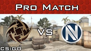 NiP vs EnVyUs - Dust2 - Ridiculously Long Match