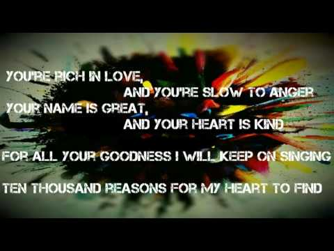 Matt Redman-10,000 Reasons(Bless the Lord) Lyrics video