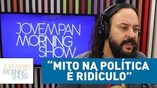 """""""Chamar alguém de 'mito' na política é ridículo"""", opina Gabriel, o Pensador, sobre Bolsonaro"""