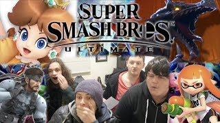 Nintendo E3 2018 - Full Reaction!!! SMASH BROS ULTIMATE!!!