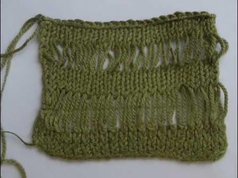 Вязание вытянутые петли турецкая коса
