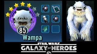 SWGOH - Wampa kill'n it at 5 star - arena action - Star Wars Galaxy of Heroes