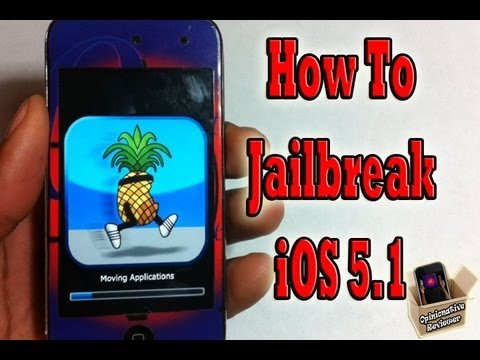 NEW JAILBREAK iOS 5.1 iPhone 4,3Gs iPod Touch 4G,3G & iPad 1 - Redsn0w