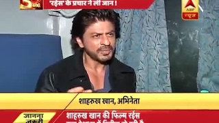 This is how Shah Rukh Khan reacted on death of one during Raees' promotion