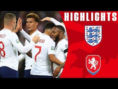 England 5-0 Czech Republic | Sterling Nets Hat-Trick in Dream Start | Euro 2020 Qualifiers | England