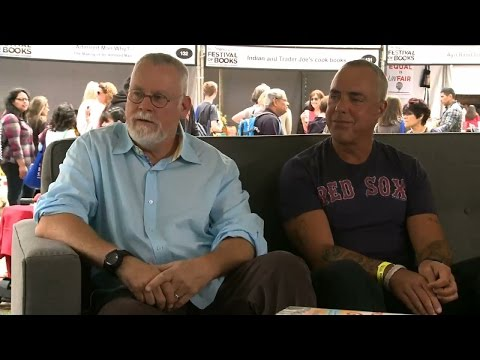 Michael Connelly and Titus Williver | 2016 L.A. Times Festival of Books