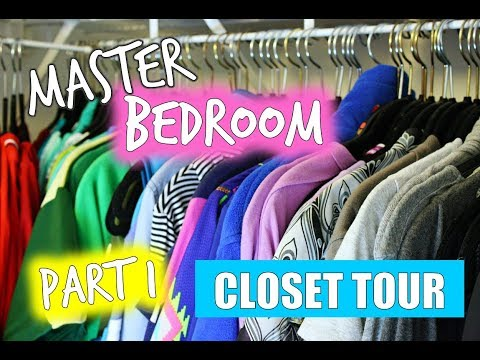 Fashionistalove22 Closet Tour My Master Bedroom Closet Tour