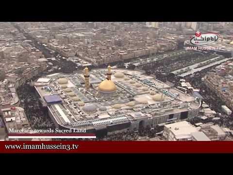 Arbaeen Events    Heli-shots From Karbala In Arbaeen Ziyarat 1436   8 12 2014 video
