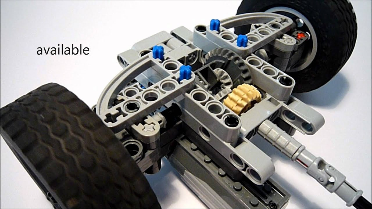 lego technic suspension instructions