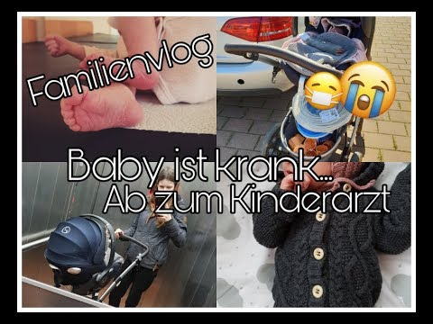 Familenvlog | Kinderarzt-Termin | Krankes Baby || Mama mit 18