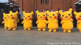 Pikachu Nhảy Sôi Động Cực Vui - Nhạc Thiếu Nhi Remix Ba Bà Đi Bán Lợn Con