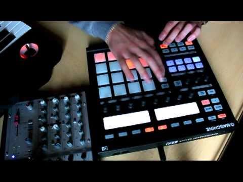 NI MASCHINE / make a beat using the STEPSEQUENZER (Native Instruments) / DAMJAY BEATS
