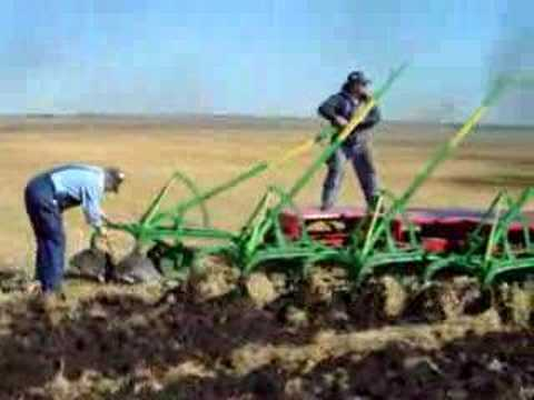 Kory Anderson Plowing with a CASE 65 horse steam engine