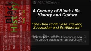 Black History Month Special: 'The Dred Scott Case' 2/3/16