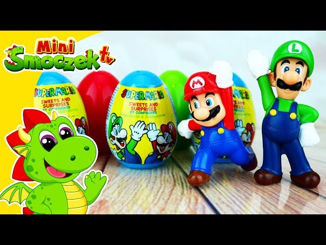 Super Mario Jajka Niespodzianki! • Zabawki Z Gry • Bajki Dla Dzieci Po Polsku