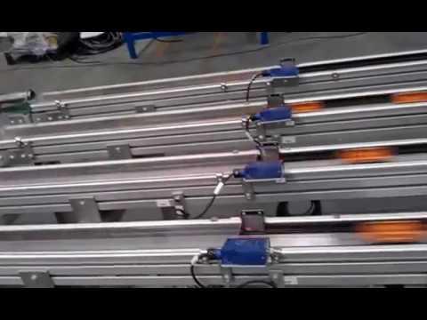 quarter club out press,conveyor, robot palatalization