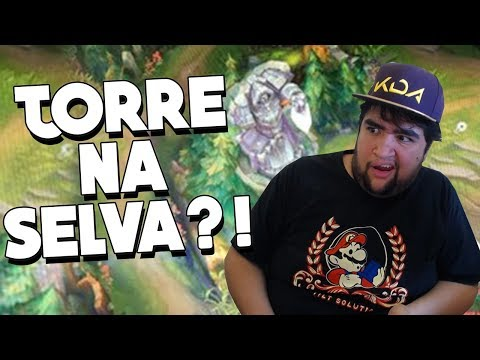 VAZARAM MUDANÇAS BIZARRAS DA PRÉ TEMPORADA DO LEAGUE OF LEGENDS! TORRES NA SELVA?!?