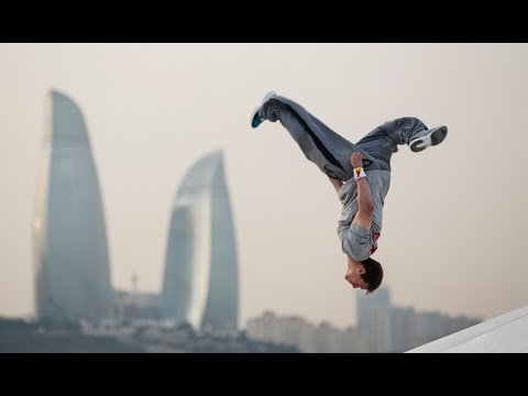 Parkour in Baku City - Ryan Doyle 2013
