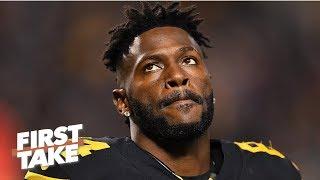 Antonio Brown and Art Rooney's meeting is not the end of Steelers' saga – Damien Woody   First Take