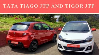 Tata Tiago and Tigor jtp | specs comparison, review , price ,what's new|