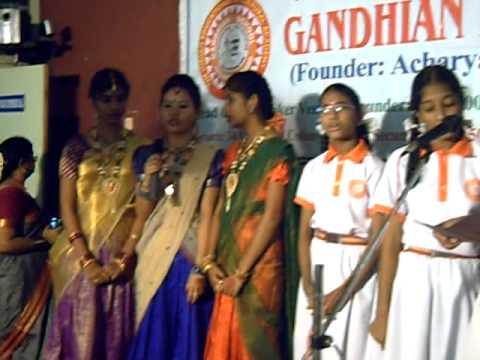 gandhian school october second program 2