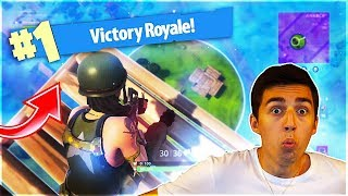OMG MY FIRST SOLO WIN!! Fortnite: Battle Royale