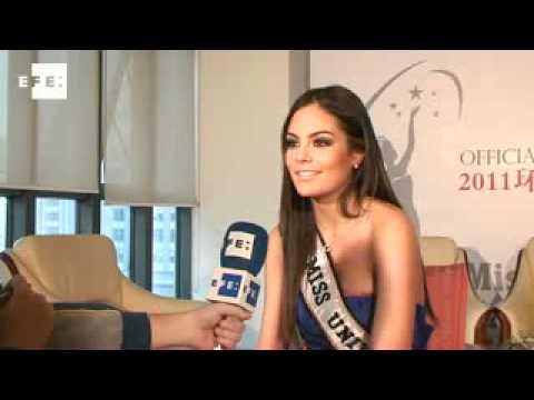 La Miss Universo Ximena Navarrete, promociona el concurso en China