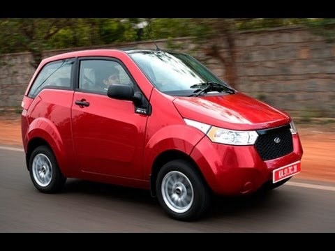 e2o Mahindra launches electric car