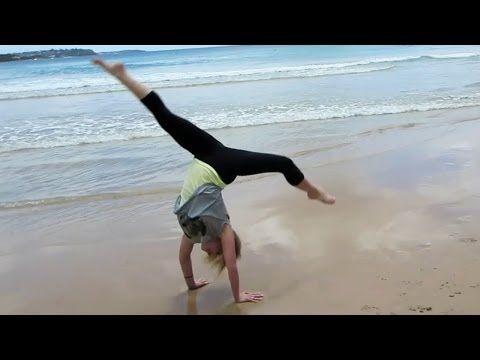 AUSTRALIAN BEACH STUNTS