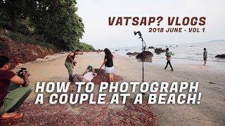 Pre-wedding photography Goa - BTS - Amrit Vatsa