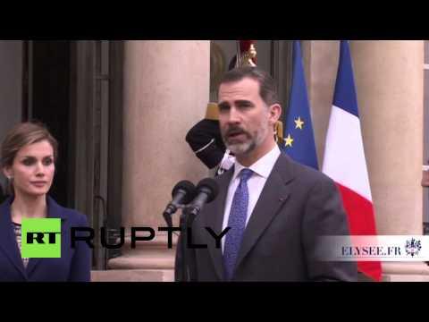 France: King Felipe cancels France trip after Germanwings crash