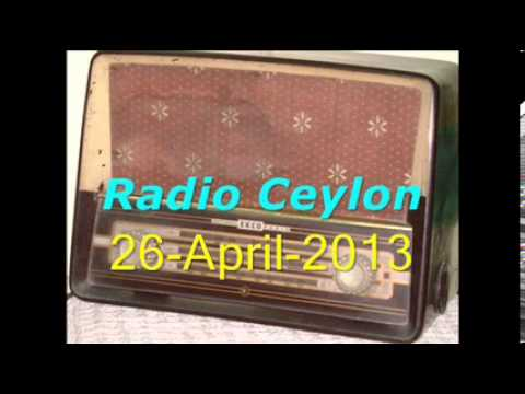 Purani Filmon Ka Sangeet~Radio Ceylon 26-04-2013~Morning~Part-2