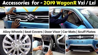 2019 Wagon R Accessories with prices | Vxi / Lxi | Ujjwal Saxena