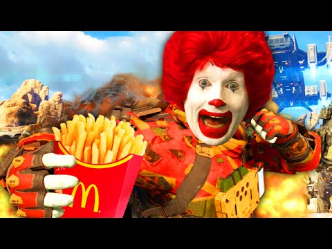 Taking Fast Food Orders on BLACK OPS 3! (BO3 Funny Moments)