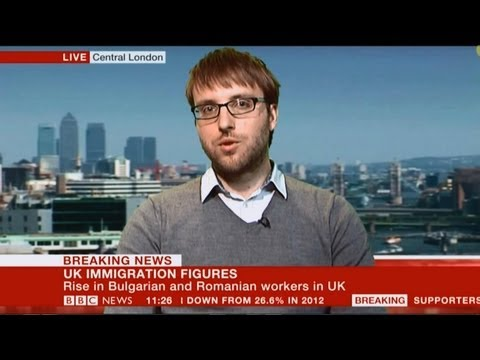 Discussing the new figures for Romanian and Bulgarian immigrants to the UK