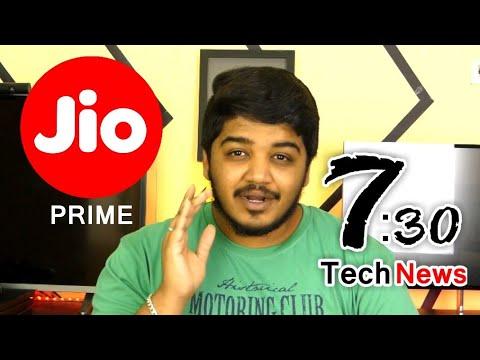 ஏழ்ரை Tech News #88 - Jio Prime?, Facebook will not Reply, Mi Mix 2S, Idea-Vodafone Merger