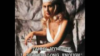 Watch Tammy Wynette I Stayed Long Enough video