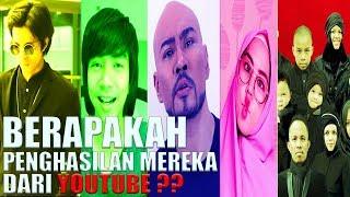 5 Youtubers Indonesia Dengan Gaji Terbesar JANGAN KAGETT...