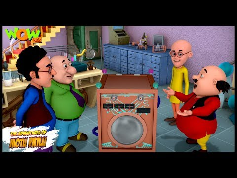 Dr Jhatka Ki Washing Machine - Motu Patlu - ENGLISH, SPANISH & FRENCH SUBTITLES! -Nickelodeon thumbnail