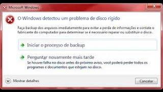 Windows Detectou um Problema No Disco Rígido | RESOLVIDO de Forma Simples